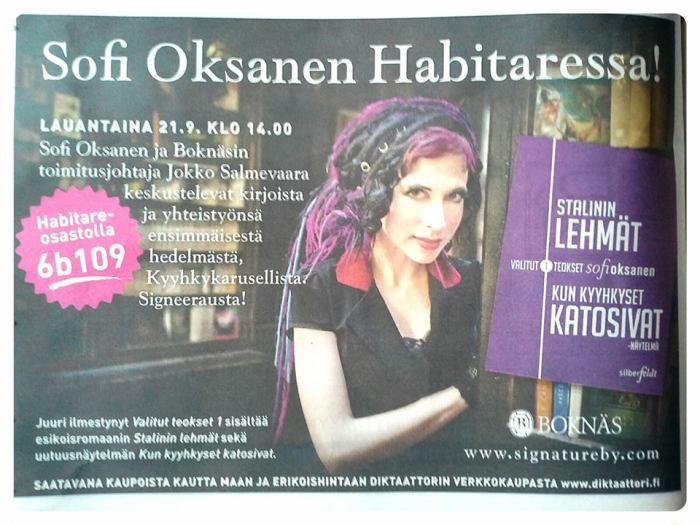 Sofi Oksnen Habitare